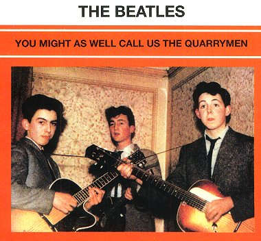You Might As Well Call Us The Quarrymen - CD cover