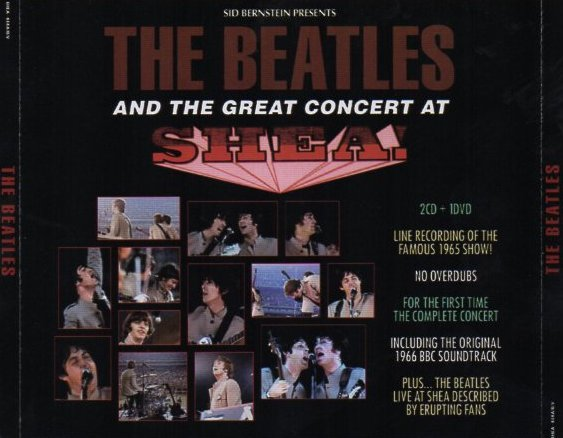 The Great Concert At Shea - CD cover