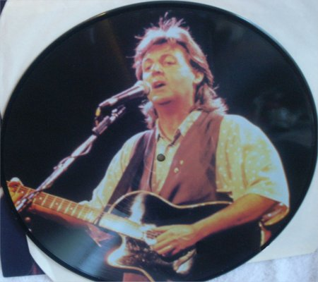 London/New York - Picture Disc Rear