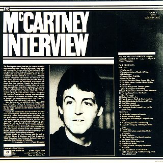 McCartney Interview - Rear Cover