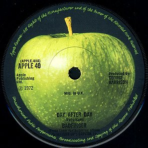 Day After Day - A-side Label