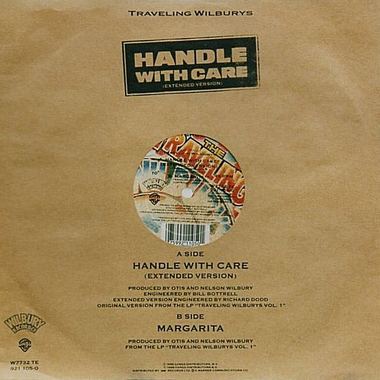 Handle With Care - Rear Cover