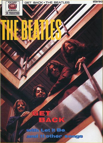 Get Back (DVD) - Front cover