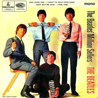 The Beatles Million Sellers - Front Cover