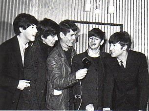 Dibbs Mather with The Beatles