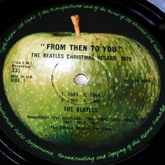 From Then To You - A-Side Label