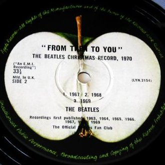 From Then To You - B-Side Label