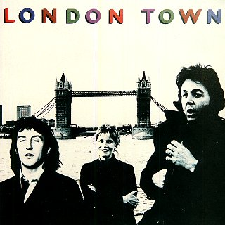 London Town - Front cover