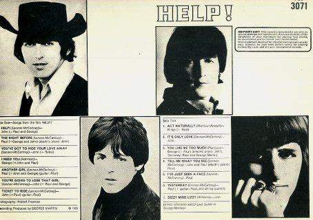 Help ! - LP back