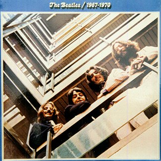 The Beatles 1967-1970 - LP cover