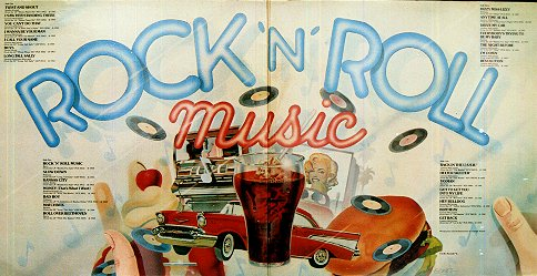 Rock 'n' Roll Music - Gatefold Interior