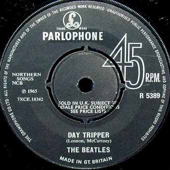 Day Tripper Normal Label