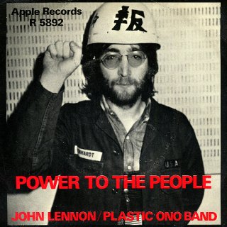Power To The People - Front Cover