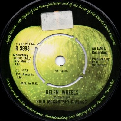 Helen Wheels - Front Cover