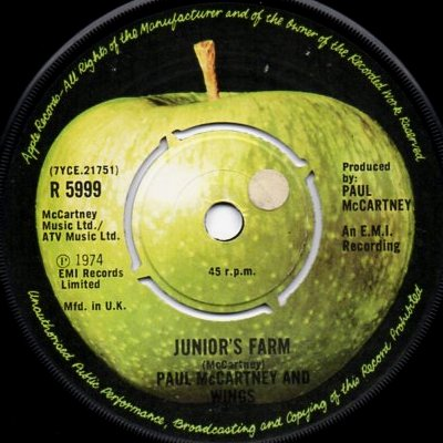 Paul Mccartney Juniors Farm