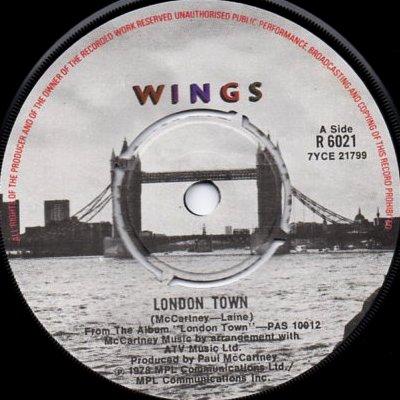 Paul McCartney - London Town