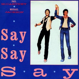 Say Say Say - Front Cover