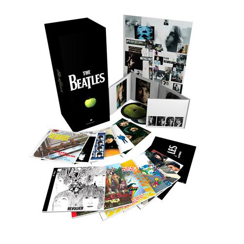 The Beatles Polska: USA: Beatlesi ponownie dominują na listach sprzedaży po wydaniu zremasterowanych płyt