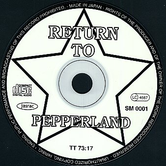 Return To Pepperland - The C.D.