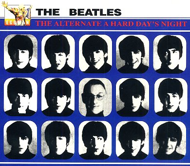 The Alternate A Hard Day's Night - CD cover