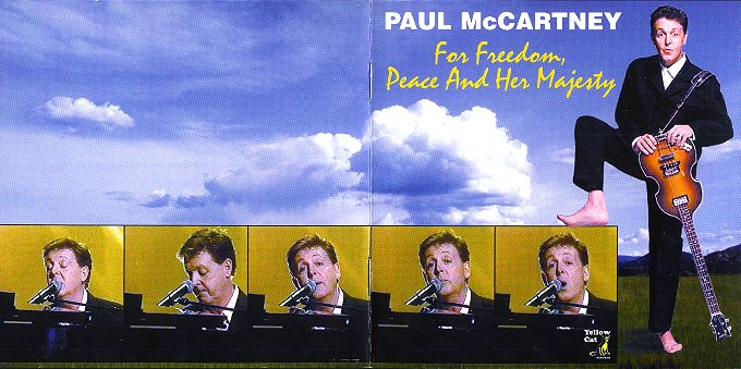 Freedom, Peace and Her Majesty - CD Cover