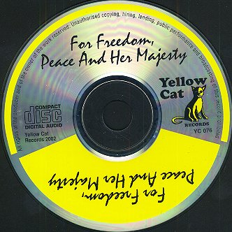 Freedom, Peace and Her Majesty - The CD